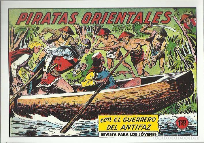 Tebeos: EL GUERRERO DEL ANTIFAZ ( COMIC-MAN ) AÑO 1980 ? LOTE - Foto 27 - 26874139