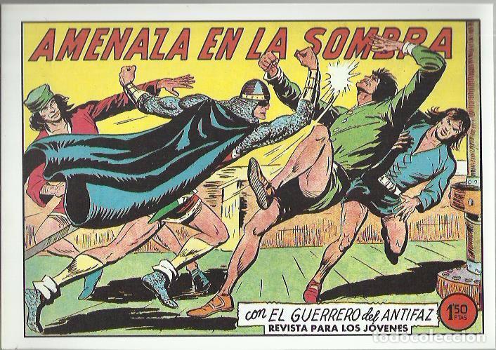 Tebeos: EL GUERRERO DEL ANTIFAZ ( COMIC-MAN ) AÑO 1980 ? LOTE - Foto 28 - 26874139