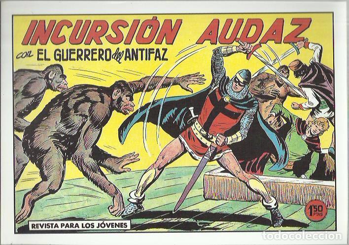 Tebeos: EL GUERRERO DEL ANTIFAZ ( COMIC-MAN ) AÑO 1980 ? LOTE - Foto 29 - 26874139