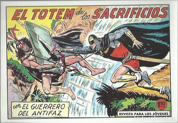 Tebeos: EL GUERRERO DEL ANTIFAZ ( COMIC-MAN ) AÑO 1980 ? LOTE - Foto 30 - 26874139