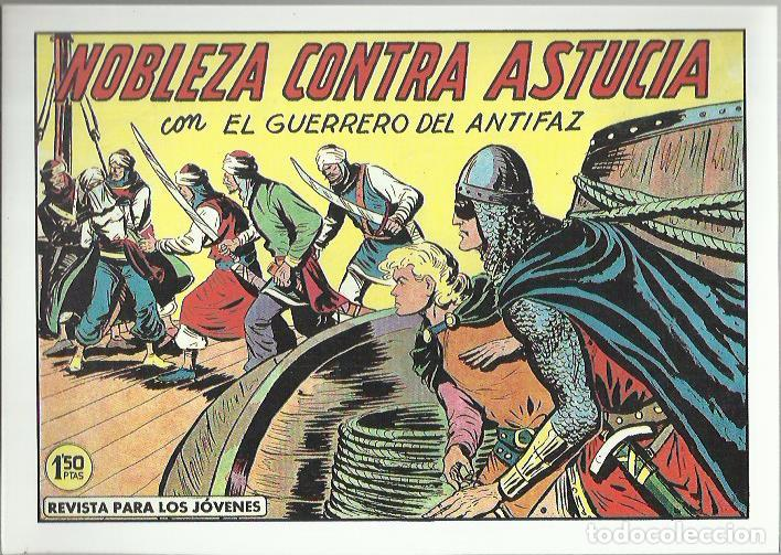 Tebeos: EL GUERRERO DEL ANTIFAZ ( COMIC-MAN ) AÑO 1980 ? LOTE - Foto 31 - 26874139