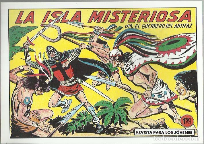 Tebeos: EL GUERRERO DEL ANTIFAZ ( COMIC-MAN ) AÑO 1980 ? LOTE - Foto 32 - 26874139