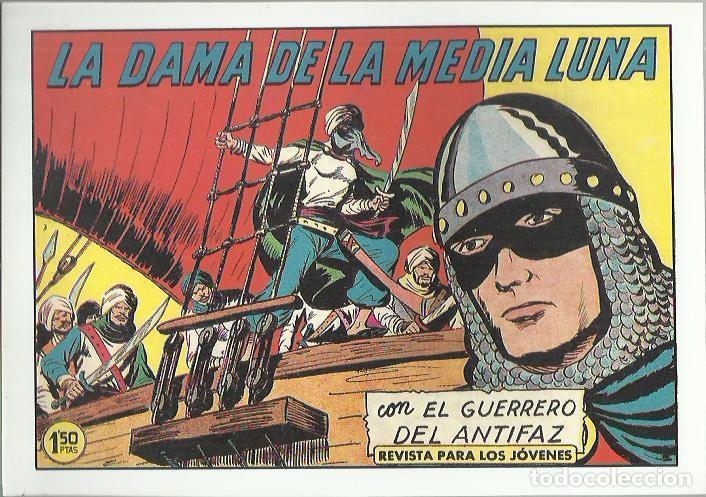 Tebeos: EL GUERRERO DEL ANTIFAZ ( COMIC-MAN ) AÑO 1980 ? LOTE - Foto 33 - 26874139