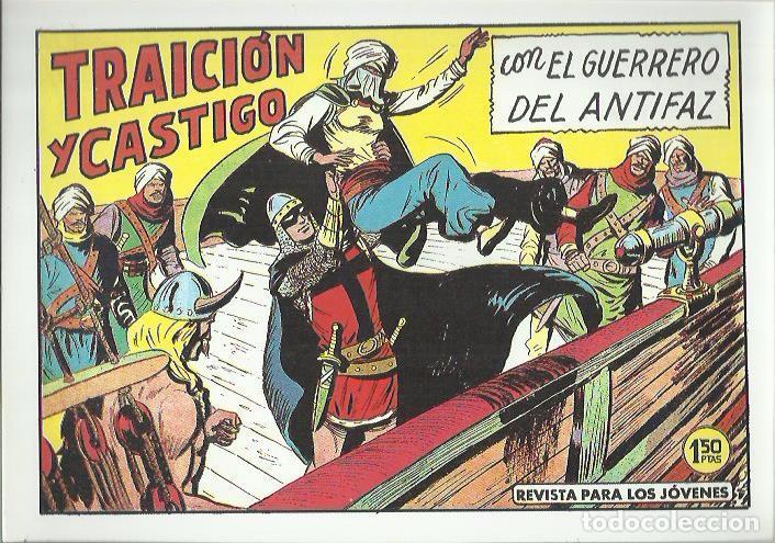 Tebeos: EL GUERRERO DEL ANTIFAZ ( COMIC-MAN ) AÑO 1980 ? LOTE - Foto 34 - 26874139
