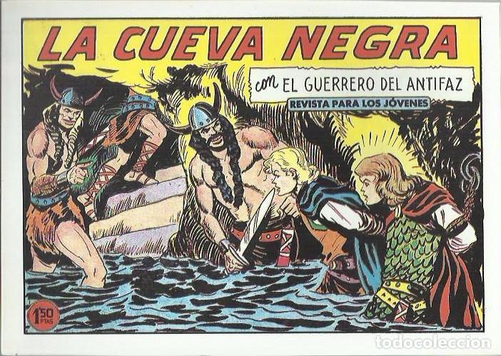 Tebeos: EL GUERRERO DEL ANTIFAZ ( COMIC-MAN ) AÑO 1980 ? LOTE - Foto 35 - 26874139