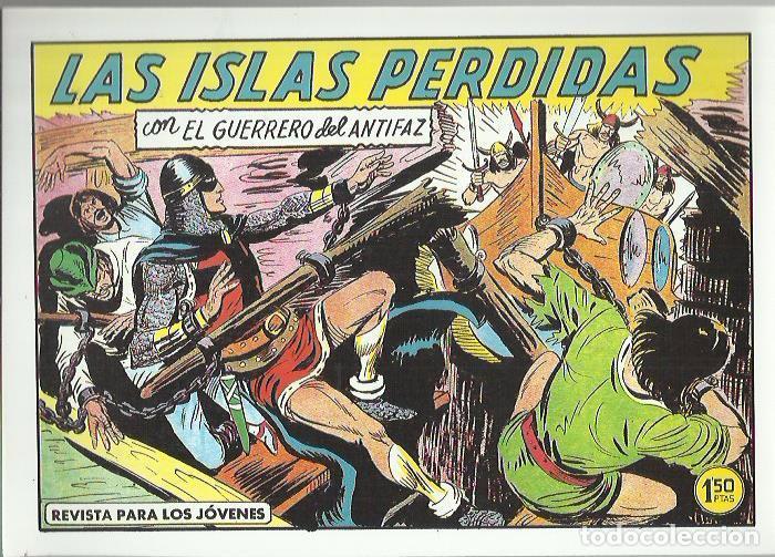 Tebeos: EL GUERRERO DEL ANTIFAZ ( COMIC-MAN ) AÑO 1980 ? LOTE - Foto 36 - 26874139