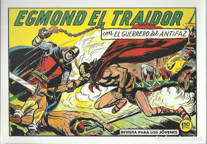 Tebeos: EL GUERRERO DEL ANTIFAZ ( COMIC-MAN ) AÑO 1980 ? LOTE - Foto 37 - 26874139