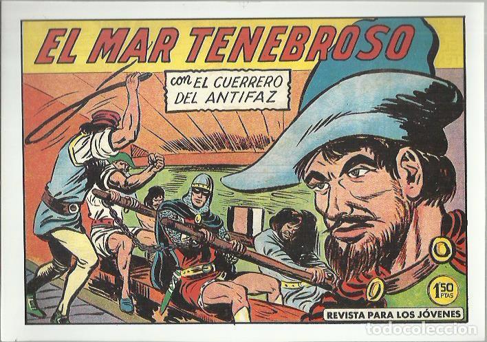 Tebeos: EL GUERRERO DEL ANTIFAZ ( COMIC-MAN ) AÑO 1980 ? LOTE - Foto 38 - 26874139
