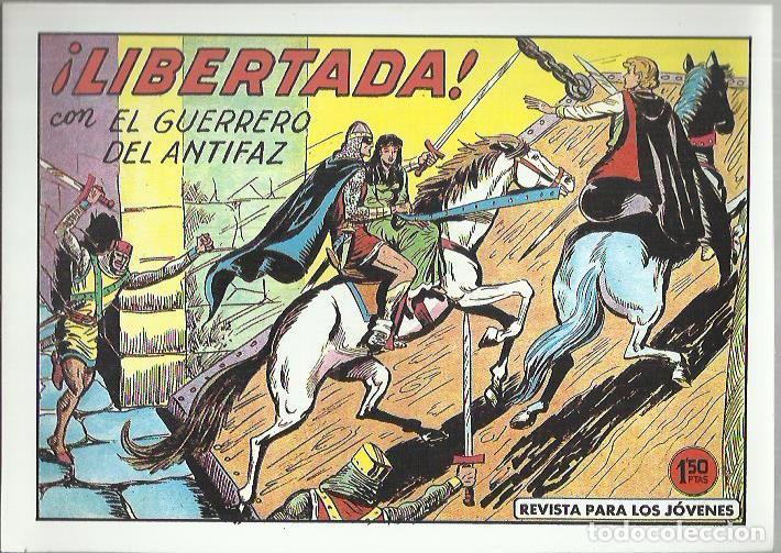 Tebeos: EL GUERRERO DEL ANTIFAZ ( COMIC-MAN ) AÑO 1980 ? LOTE - Foto 39 - 26874139