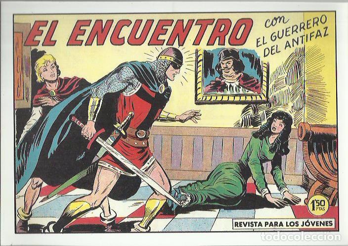 Tebeos: EL GUERRERO DEL ANTIFAZ ( COMIC-MAN ) AÑO 1980 ? LOTE - Foto 40 - 26874139
