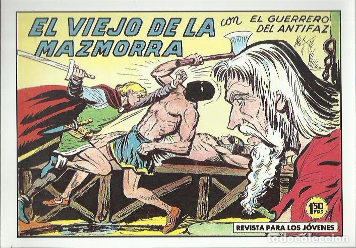 Tebeos: EL GUERRERO DEL ANTIFAZ ( COMIC-MAN ) AÑO 1980 ? LOTE - Foto 41 - 26874139