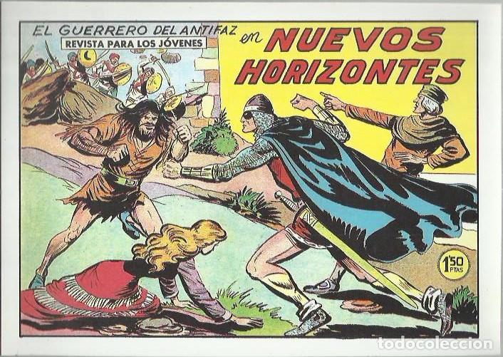 Tebeos: EL GUERRERO DEL ANTIFAZ ( COMIC-MAN ) AÑO 1980 ? LOTE - Foto 42 - 26874139