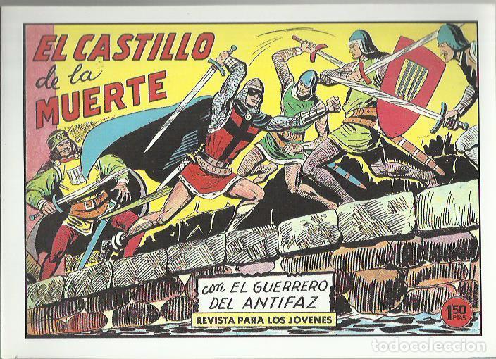 Tebeos: EL GUERRERO DEL ANTIFAZ ( COMIC-MAN ) AÑO 1980 ? LOTE - Foto 43 - 26874139
