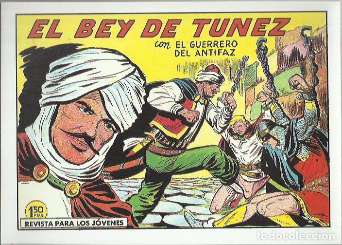 Tebeos: EL GUERRERO DEL ANTIFAZ ( COMIC-MAN ) AÑO 1980 ? LOTE - Foto 44 - 26874139