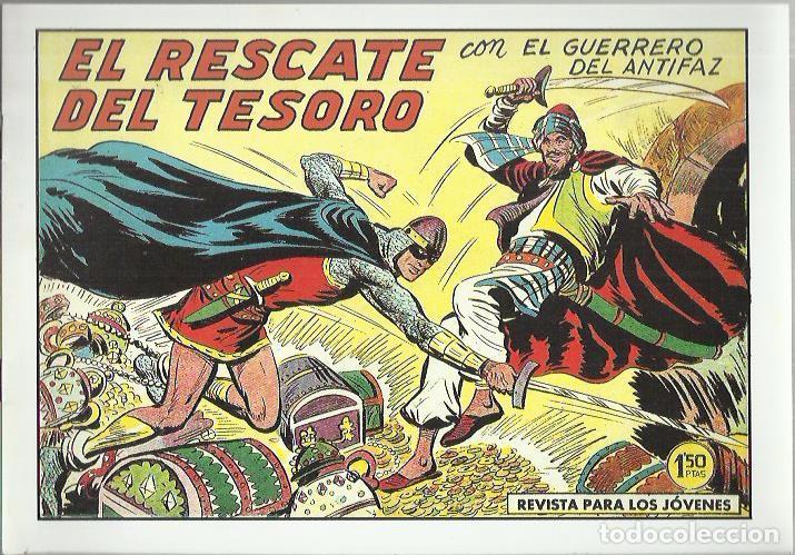 Tebeos: EL GUERRERO DEL ANTIFAZ ( COMIC-MAN ) AÑO 1980 ? LOTE - Foto 45 - 26874139