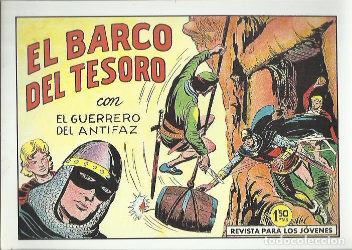 Tebeos: EL GUERRERO DEL ANTIFAZ ( COMIC-MAN ) AÑO 1980 ? LOTE - Foto 46 - 26874139