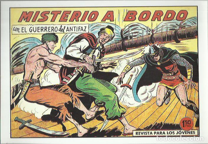 Tebeos: EL GUERRERO DEL ANTIFAZ ( COMIC-MAN ) AÑO 1980 ? LOTE - Foto 47 - 26874139