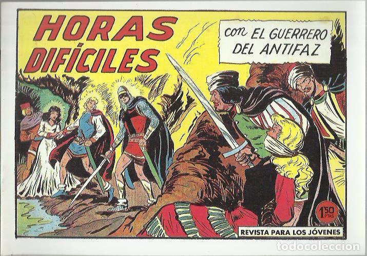 Tebeos: EL GUERRERO DEL ANTIFAZ ( COMIC-MAN ) AÑO 1980 ? LOTE - Foto 48 - 26874139