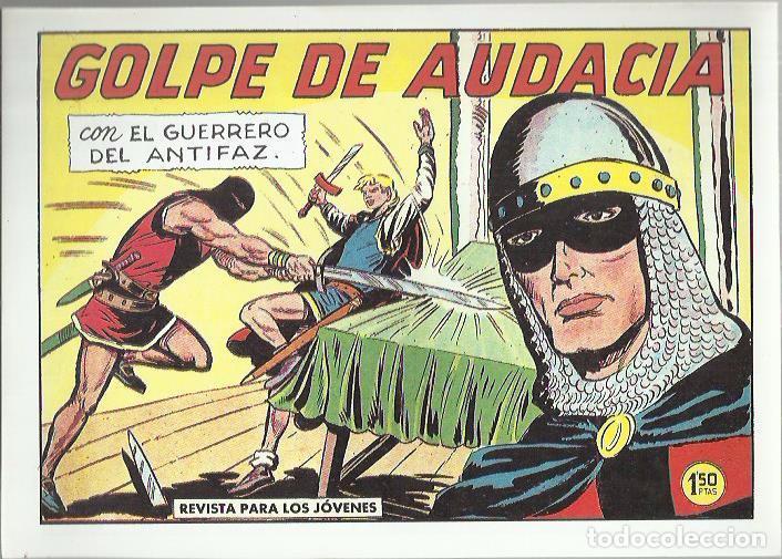 Tebeos: EL GUERRERO DEL ANTIFAZ ( COMIC-MAN ) AÑO 1980 ? LOTE - Foto 49 - 26874139