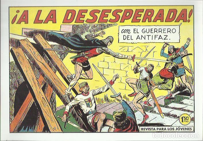 Tebeos: EL GUERRERO DEL ANTIFAZ ( COMIC-MAN ) AÑO 1980 ? LOTE - Foto 50 - 26874139