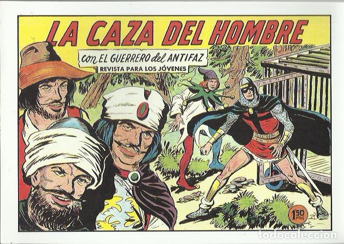 Tebeos: EL GUERRERO DEL ANTIFAZ ( COMIC-MAN ) AÑO 1980 ? LOTE - Foto 51 - 26874139