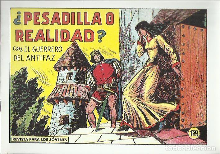 Tebeos: EL GUERRERO DEL ANTIFAZ ( COMIC-MAN ) AÑO 1980 ? LOTE - Foto 52 - 26874139