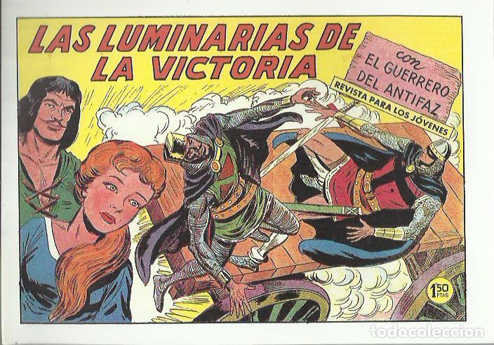 Tebeos: EL GUERRERO DEL ANTIFAZ ( COMIC-MAN ) AÑO 1980 ? LOTE - Foto 54 - 26874139