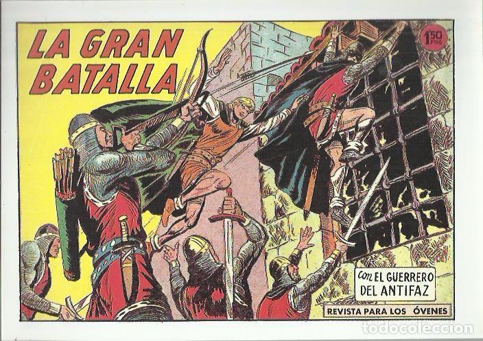 Tebeos: EL GUERRERO DEL ANTIFAZ ( COMIC-MAN ) AÑO 1980 ? LOTE - Foto 55 - 26874139