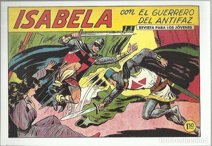 Tebeos: EL GUERRERO DEL ANTIFAZ ( COMIC-MAN ) AÑO 1980 ? LOTE - Foto 56 - 26874139