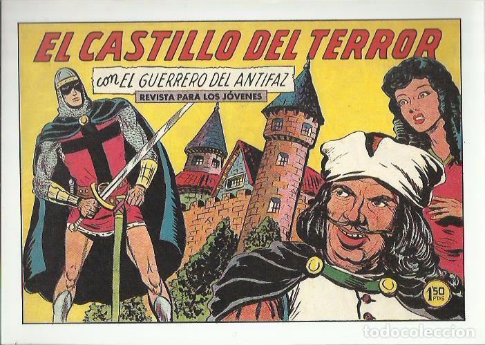 Tebeos: EL GUERRERO DEL ANTIFAZ ( COMIC-MAN ) AÑO 1980 ? LOTE - Foto 57 - 26874139