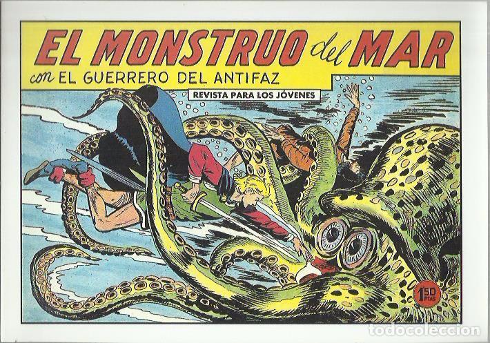 Tebeos: EL GUERRERO DEL ANTIFAZ ( COMIC-MAN ) AÑO 1980 ? LOTE - Foto 58 - 26874139