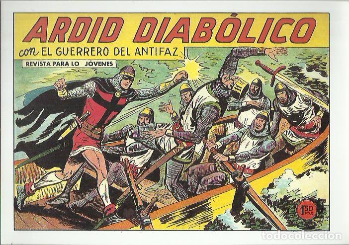 Tebeos: EL GUERRERO DEL ANTIFAZ ( COMIC-MAN ) AÑO 1980 ? LOTE - Foto 59 - 26874139