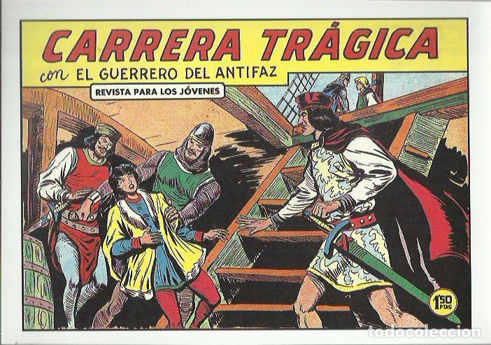 Tebeos: EL GUERRERO DEL ANTIFAZ ( COMIC-MAN ) AÑO 1980 ? LOTE - Foto 60 - 26874139