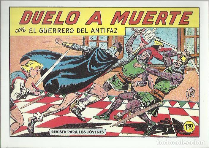 Tebeos: EL GUERRERO DEL ANTIFAZ ( COMIC-MAN ) AÑO 1980 ? LOTE - Foto 61 - 26874139