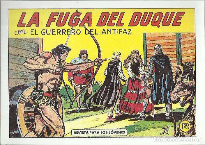 Tebeos: EL GUERRERO DEL ANTIFAZ ( COMIC-MAN ) AÑO 1980 ? LOTE - Foto 62 - 26874139