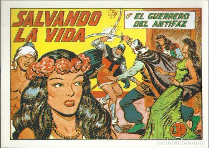 Tebeos: EL GUERRERO DEL ANTIFAZ ( COMIC-MAN ) AÑO 1980 ? LOTE - Foto 63 - 26874139