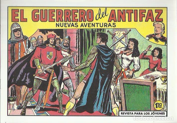 Tebeos: EL GUERRERO DEL ANTIFAZ ( COMIC-MAN ) AÑO 1980 ? LOTE - Foto 64 - 26874139