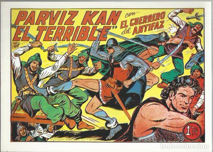 Tebeos: EL GUERRERO DEL ANTIFAZ ( COMIC-MAN ) AÑO 1980 ? LOTE - Foto 65 - 26874139