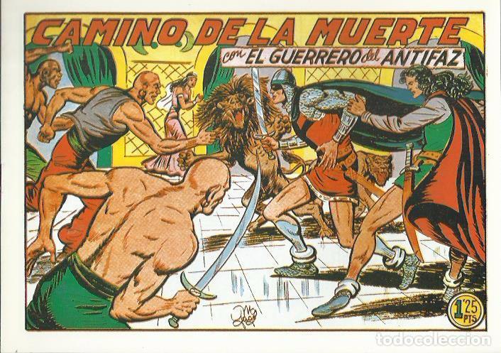Tebeos: EL GUERRERO DEL ANTIFAZ ( COMIC-MAN ) AÑO 1980 ? LOTE - Foto 66 - 26874139