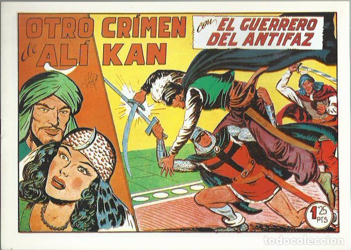 Tebeos: EL GUERRERO DEL ANTIFAZ ( COMIC-MAN ) AÑO 1980 ? LOTE - Foto 67 - 26874139