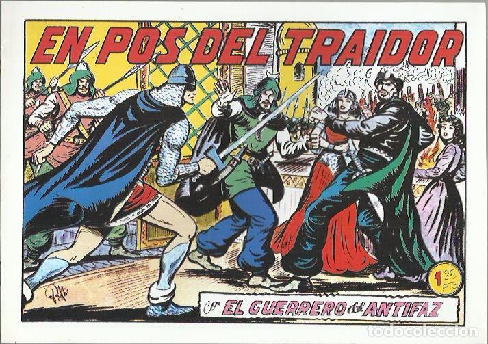 Tebeos: EL GUERRERO DEL ANTIFAZ ( COMIC-MAN ) AÑO 1980 ? LOTE - Foto 69 - 26874139