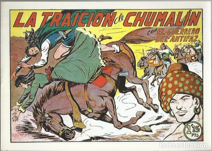 Tebeos: EL GUERRERO DEL ANTIFAZ ( COMIC-MAN ) AÑO 1980 ? LOTE - Foto 70 - 26874139