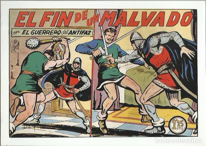 Tebeos: EL GUERRERO DEL ANTIFAZ ( COMIC-MAN ) AÑO 1980 ? LOTE - Foto 71 - 26874139