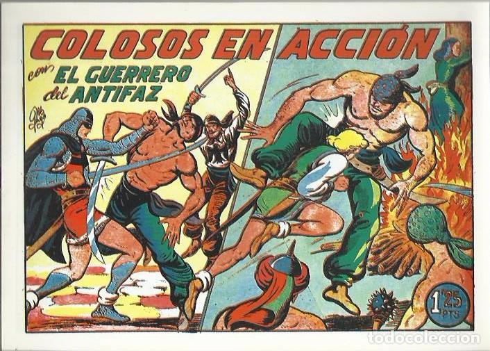 Tebeos: EL GUERRERO DEL ANTIFAZ ( COMIC-MAN ) AÑO 1980 ? LOTE - Foto 73 - 26874139