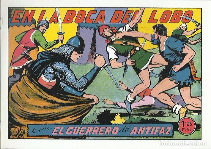 Tebeos: EL GUERRERO DEL ANTIFAZ ( COMIC-MAN ) AÑO 1980 ? LOTE - Foto 75 - 26874139