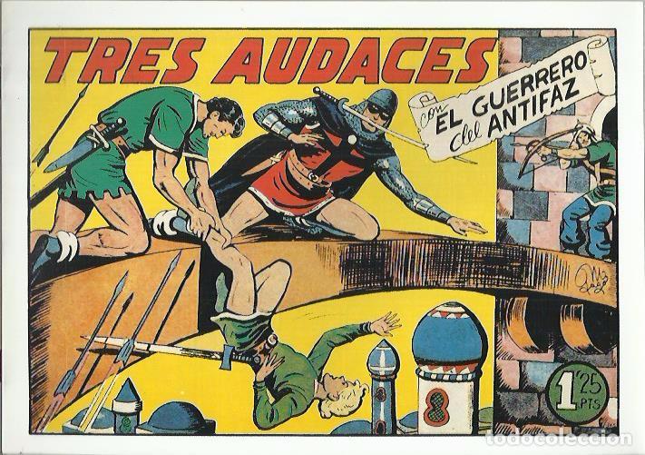 Tebeos: EL GUERRERO DEL ANTIFAZ ( COMIC-MAN ) AÑO 1980 ? LOTE - Foto 76 - 26874139