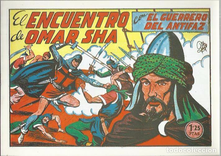 Tebeos: EL GUERRERO DEL ANTIFAZ ( COMIC-MAN ) AÑO 1980 ? LOTE - Foto 77 - 26874139