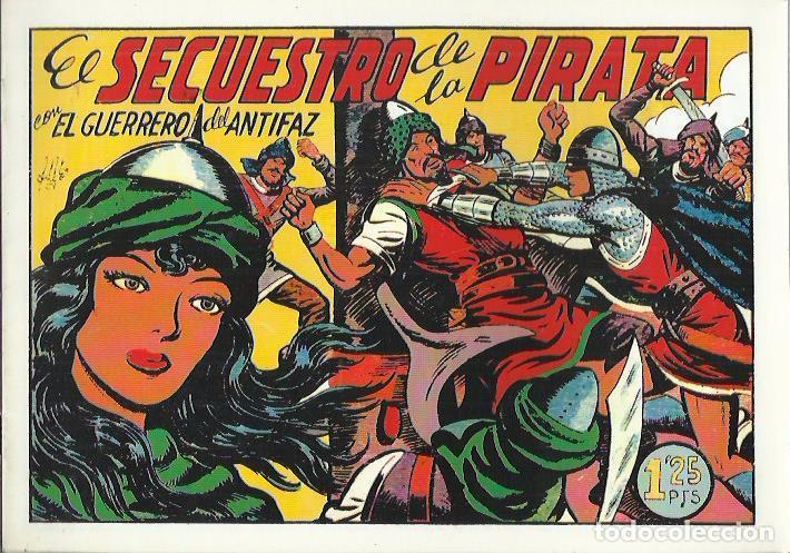 Tebeos: EL GUERRERO DEL ANTIFAZ ( COMIC-MAN ) AÑO 1980 ? LOTE - Foto 78 - 26874139