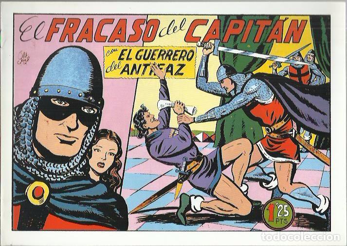 Tebeos: EL GUERRERO DEL ANTIFAZ ( COMIC-MAN ) AÑO 1980 ? LOTE - Foto 79 - 26874139