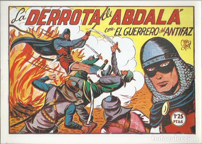 Tebeos: EL GUERRERO DEL ANTIFAZ ( COMIC-MAN ) AÑO 1980 ? LOTE - Foto 80 - 26874139
